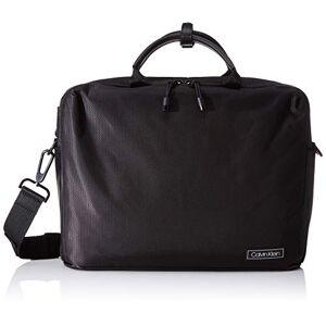 Calvin Klein Revealed Laptop Bag, Pochettes homme, Noir (Black), 0.1x0.1x0.1 cm (W x H L) - Publicité