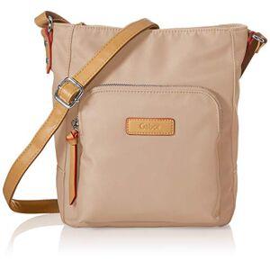 Gabor Alice Cross Bag Sac pour femme Taille M Beige beige, Medium - Publicité