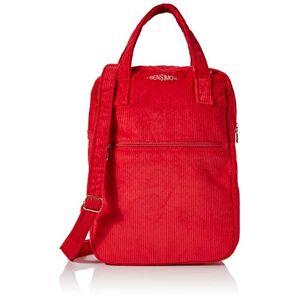 Bensimon femme Shopper Bag Sac porte epaule Rouge (Rouge) - Publicité