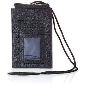 BOSS Crosstown_Phone 4cc, Pochette pour la Nuque Homme, Noir 1, Taille Unique - Publicité