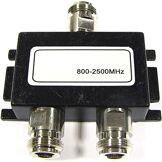 Cablematic - splitter WIFI 3-port de 800 à 2500 MHz compact
