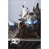 Empire Interactive Destiny poster sont accessoires de fixation multicolore