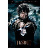 GB eye Poster The Hobbit Bataille de Cinq armées Maxi Poster-Un Voyage Inattendu, Bilbo Multicolore