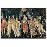 Artopweb EC14818 Botticelli - The Spring, Bois, Multicolore, 100x67x1,8 cm