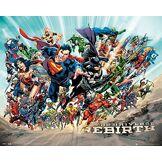 DC Comics Ltd, Universe, Renaissance, Mini Poster 40x 40cm, Bois, Plusieurs, 65x 3.5x 3.5cm