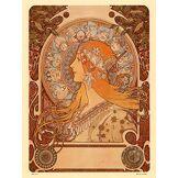 onthewall Art Nouveau Poster Art imprimé par Alphonse Mucha Zodiak