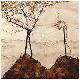 ArtPlaza AS91435 Panneau Décoratif, Bois, Multicolore, 50 x 1,8 x 50 cm