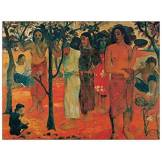 Artopweb EC15787 Gauguin Nave MAMANA, Bois, 100x75x1,8 cm