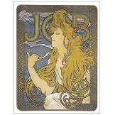 Artopweb Mucha-Job 1897 Panneaux Decoratifs, Multicolore, 22x29 Cm