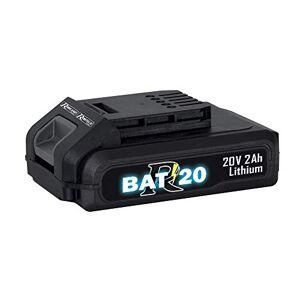 Ribiland 10417 Batterie Gamme R-BAT20-Batterie Li-ION 20 V-2 Ah. avec témoin de Charge, Aucune - Publicité