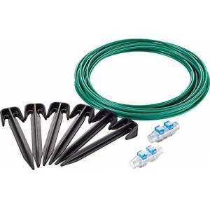 Bosch Kit de réparation Bosch Accessoire pour tondeuse Indego (câble 10m, 20 cavaliers, 2 connecteurs de câbles) - Publicité