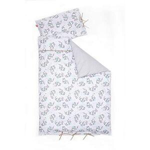 Linden 10618 Parure de lit pour enfant Motif ourson Gris 100 x 135 cm - Publicité