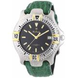 Onda Mx Onda - 32-6201-45 - Montre Homme - Quartz - Analogique - Aiguilles Lumineuses - Bracelet Cuir Vert