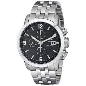 Tissot T055.427.11.057.00 Montre chronographe Automatique en Acier Inoxydable pour Homme
