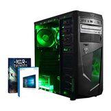 Vibox Submission 6W Unité Centrale Gaming Néon Vert (AMD Athlon 64 FX, 8 Go de RAM, 1 to, AMD Radeon R7, Windows 10)