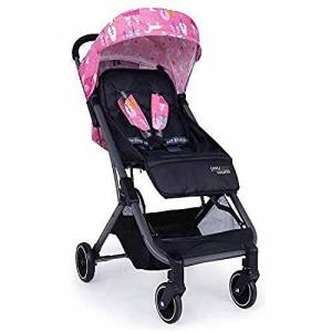 Cosatto UWU Mix Pushchair  Compact City Stroller Suitable from Birth to Toddler, Easy Fold, Pull Along Handle (Candy Unicorn Land) - Publicité