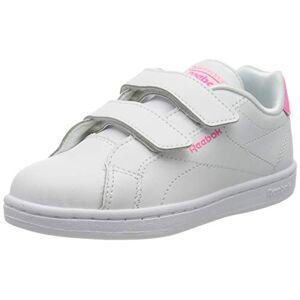 Reebok RBK Royal Complete CLN Alt 2.0, Gymnastics Shoe Girls, White/Solar Pink/None, 18.5 EU - Publicité