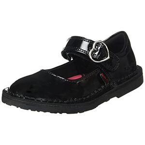 Kickers Adlar Heart MJ, Chaussure d'uniforme Scolaire Garçon Fille, Black, 24.5 EU - Publicité