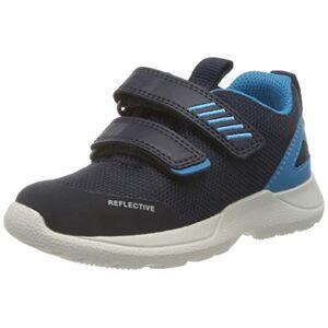 superfit Rush, Chaussure de première randonnée bébé garçon, Bleu 8000, 24 EU - Publicité