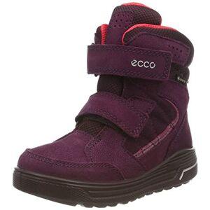 ECCO Urban Snowboarder, Baskets Hautes Fille, Violet (Aubergine/Teaberry 51521), 29 EU - Publicité