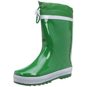 Playshoes Gmbh Rubber Basic Lined, Bottes Mixte enfant Vert (Green), 20/21 EU - Publicité