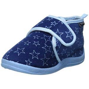 Playshoes Chaussons Pastel, Pantoufles Garon Unisex Kinder, Bleu (Marine 11), 18/19 EU - Publicité