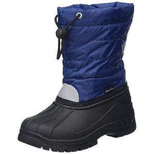 Playshoes Botte Hiver Classic, Neige, Bleu (Marine 11), 32/33 EU - Publicité