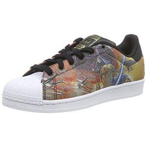 Adidas Superstar Star Wars, Sneakers Basses mixte enfant, Multicolore Mehrfarbig (Core Black/Core Black/Ftwr White), 38 - Publicité