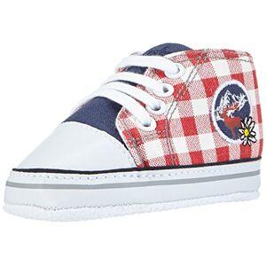 Playshoes Baskets Cerf, Chaussures Premiers Pas, Multicolore (Marine 11), 19 EU - Publicité