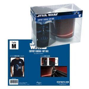 ABYstyle Abypck025l Accessoire Pour Déguisement Set D'accessoires Coffret Cadeau T-shirt Et Tasse Star Wars Dark Side - Publicité