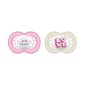 MAM 67637600 Article pour bébé en silicone I love Daddy taille 6-16 mois - Publicité