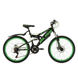 KS Cycling Bliss VTT Tout Suspendu Noir/Vert 24 - Publicité