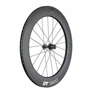 DT Swiss  Pices de vélo Standard Arrire 80 mm Carbone - Publicité