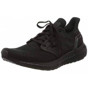 Adidas Ultraboost 20 W, Chaussure de Course Femme, Core Black Grey Four F17 Solar Red, 38 2/3 EU - Publicité