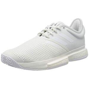 Adidas Sole Court Boost X Parley Allcourtschuh Damen-Wei, Hellgrau, Chaussures de Tennis Femme, Blanc Blanc Noir, 42.5 EU - Publicité