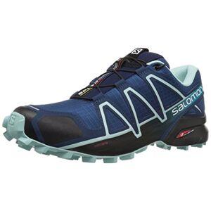 SALOMON Speedcross 4 Chaussures De Trail Femme, Bleu(Poseidon/Eggshell Blue/Black), 38 2/3 EU - Publicité