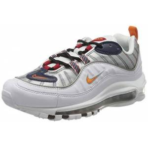 Nike W AIR Max 98 PRM, Chaussure de Course Femme, White Starfish Wolf Grey Gym Red, 40 EU - Publicité