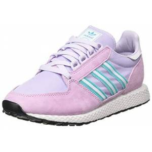 Adidas Forest Grove W, Basket Femme, Clear Lilac Dash Grey Hi Res Aqua, 36 EU - Publicité