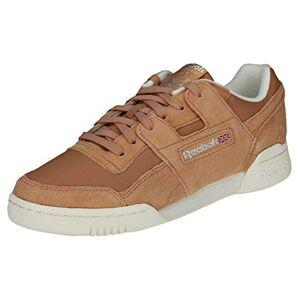 Reebok Workout Lo Plus, Chaussures de Fitness Femme, Multicolore (VTG/Bare Brown/Chalk/Pure Silver 000), 37 EU