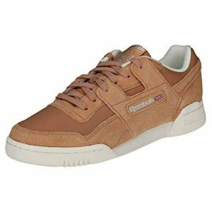 Reebok Workout Lo Plus, Chaussures de Fitness Femme, Multicolore (VTG/Bare Brown/Chalk/Pure Silver 000), 37 EU