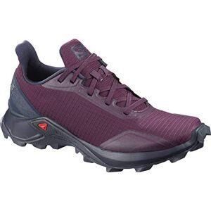 Salomon Femme Chaussures de trail running, ALPHACROSS W, Couleur: Violet (Potent Purple/Navy Blazer/India Ink), Pointure: EU 42
