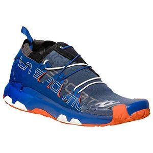 La Sportiva Unika Woman, Chaussures de Trail Femme, Multicolore-Bleu Marine/Orange (Marine Blue/Lily Orange 000), 38 EU - Publicité