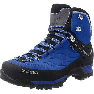 Salewa Ws Mtn Trainer Mid Gtx, Chaussures de Randonnée Hautes Femme , Bleu (Marlin / Alloy 2430) , 36.5 EU - Publicité