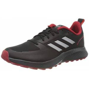 Adidas Runfalcon 2.0 TR, Running Shoe Homme, Core Black/Silver Metallic/Grey, 44 2/3 EU - Publicité