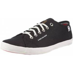 G-STAR RAW G-Star Footwear Dash, Baskets mode homme, Noir( Black Canvas), 45 EU - Publicité