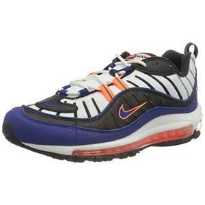 Nike Air Max 98, Chaussure de Course Homme, White/Deep Royal Blue-Total Orange-Black, 42.5 EU - Publicité