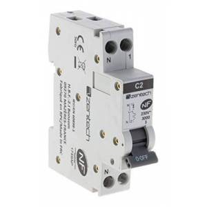 Zenitech Disjoncteur PH/N 2A NF pour cumulus et chauffe-eau - Publicité