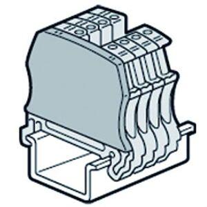 Legrand 037550 Cloison Terminale pour Blocs de Jonction  Vis Viking 3 avec 1 Entrée 1 Sortie pas de 5mm, 6mm, 8mm ou 10mm - Publicité