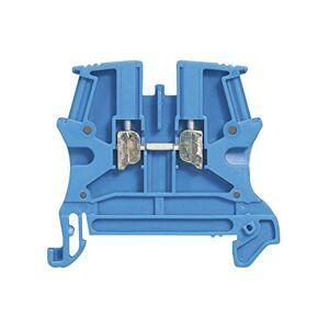 Legrand 037100 Bloc de Jonction de Passage  Vis Viking3 avec 1 Jonction, 1 Entrée, 1 Sortie, Sorties 2.5mm, Pas 5mm, Bleu - Publicité