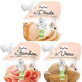 Popote Assortiment de délicieuses petites viandes - POPOTE - La Dinde, Le Jambon, Le Veau
